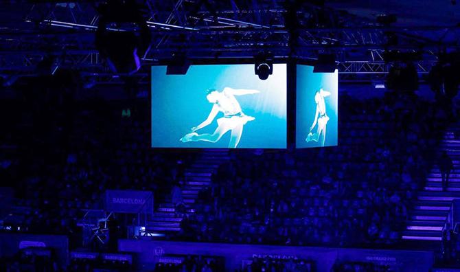 экран для спортивных событий