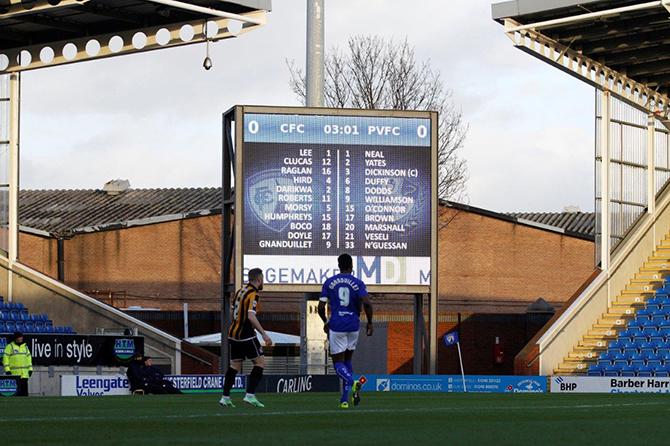 футбольный экран