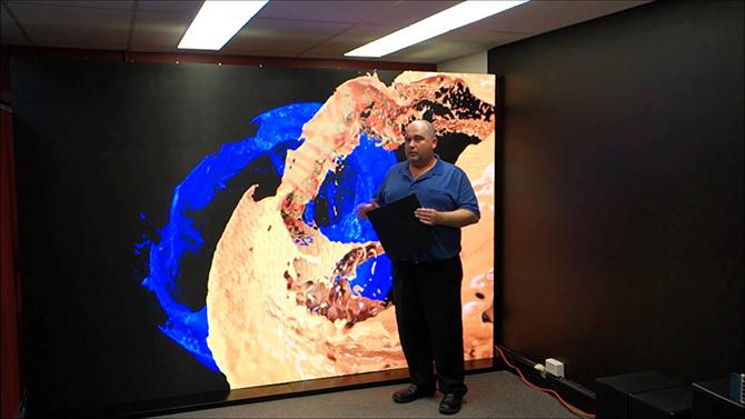 презентация на LED дислпее