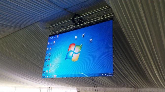 LED экран переносной