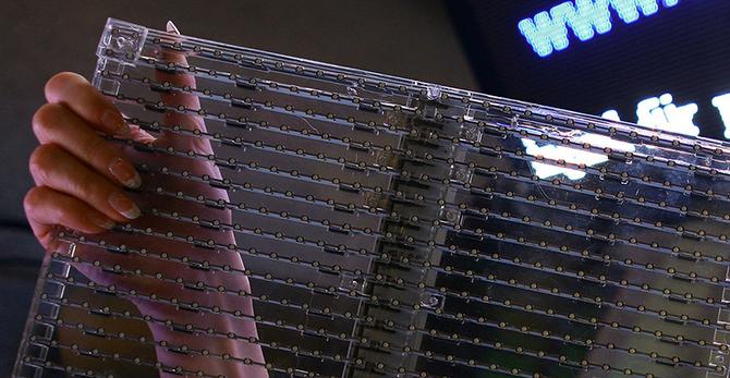 устройство прозрачных дисплеев