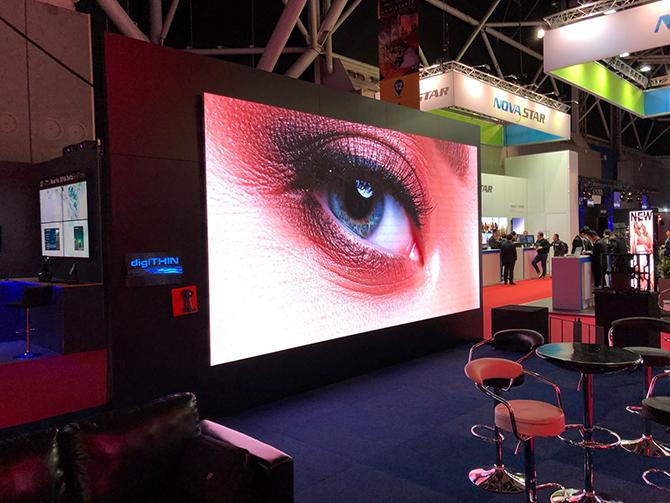 внутренний LED экран для концертов