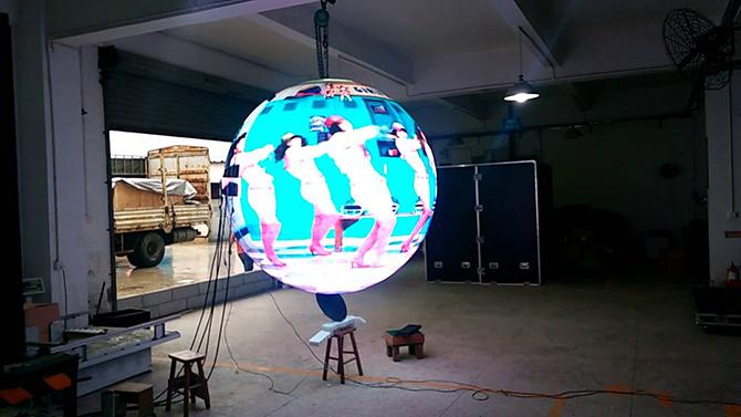 конструкция видеошара