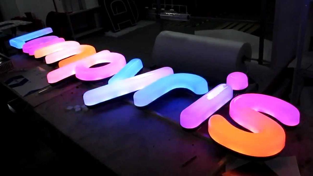 световые вывески