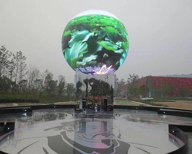 светодиодный шар outdoor