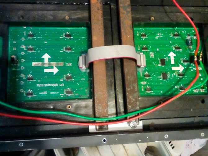 ремонт светодиодного экрана по гарантии