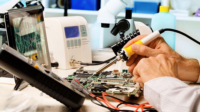 работы по ремонту светодиодных экранов