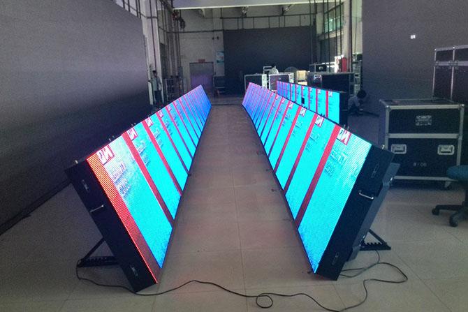 виды работ по обслуживанию лед экранов