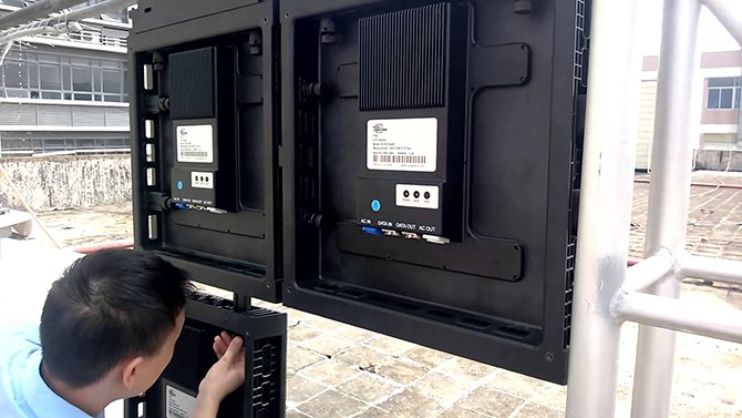 техника безопасности при монтаже ЛЕД экранов